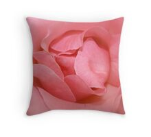 In the pink.  Throw Pillow
