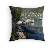 Lk Wakatipu Throw Pillow