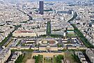 Paris from the Eiffel Tower by Patrick Morand