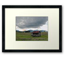 Little House on the Prairie - near Boonah Qld Framed Print