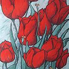 'Tulips' by Helen Miles