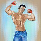 Muscled Guy by Ivan Bruffa