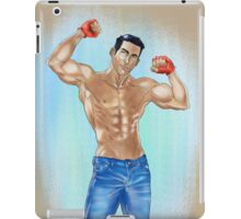 Muscled Guy iPad Case/Skin