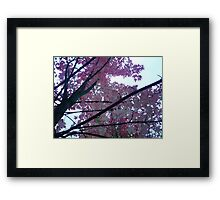 When you're feeling down, look up Framed Print