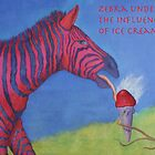 Zebra Under The Influence of Ice Cream by rfhauver