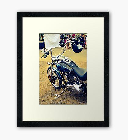 Big bad Bluey Framed Print