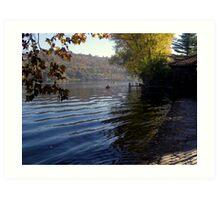 framed ripples Art Print