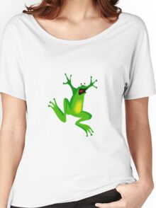 CRAZY FROG Women's Relaxed Fit T-Shirt