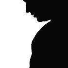 Shadow Portrait- Card by DeannaLyn
