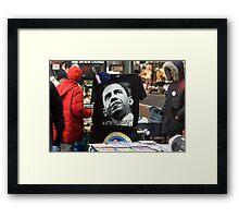 Economic Stimulus Barack Obama Framed Print