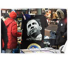 Economic Stimulus Barack Obama Poster