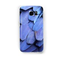 Blue Feathers Samsung Galaxy Case/Skin