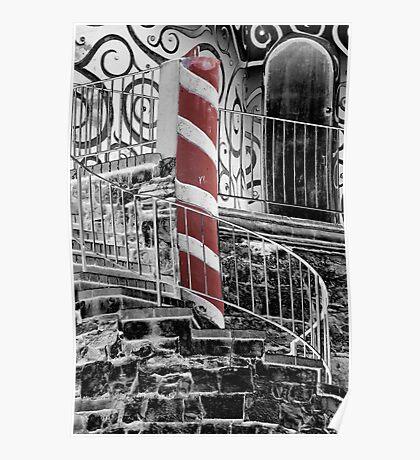 Gingerbread Castle Poster