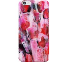 abstract flower painting iPhone Case/Skin