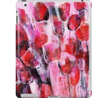 abstract flower painting iPad Case/Skin