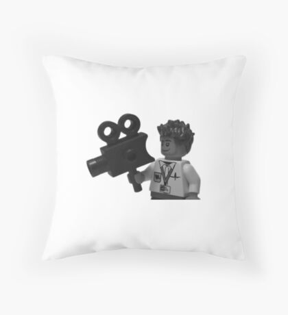 Lego - Director Of Photography  Throw Pillow