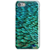 Green Feathers (2) iPhone Case/Skin