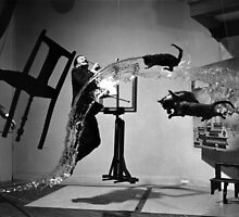 Salvador Dali A (Dali Atomicus)  1948 by Adam Asar