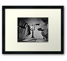 Salvador Dali A (Dali Atomicus)  1948 Framed Print