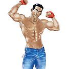 Muscled Guy NO BG by Ivan Bruffa