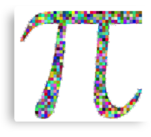 Ultimate Pi-day Canvas Print