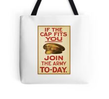 'Join the Army' Wartime Vintage Poster Tote Bag