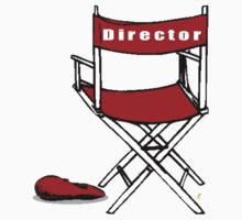 Director Chair by Colin Van Der Heide