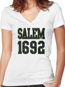 Salem 1692 Women's Fitted V-Neck T-Shirt