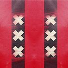 Amsterdam flag leather by filippobassano