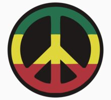 Rasta Peace One Piece - Short Sleeve