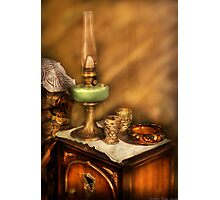 The Gas Lamp Photographic Print