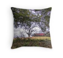 settled Throw Pillow