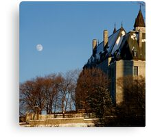 A Late Winter Afternoon Behind Parliament Canvas Print
