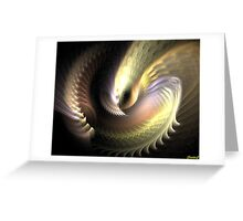 On the wings of Fantasy Greeting Card