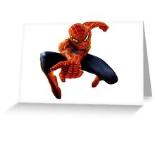 Spider of block Greeting Card