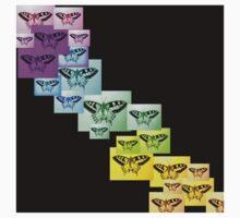 Butterfly Rainbow Kids Tee