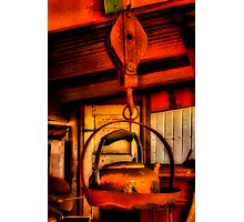 """Heavy Kettle"" Photographic Print"