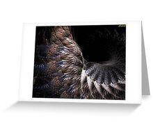 "ostrich ""boa"" Greeting Card"