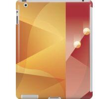 Art Deco abstract background design iPad Case/Skin