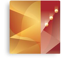 Art Deco abstract background design Canvas Print