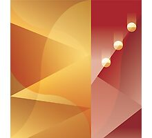 Art Deco abstract background design Photographic Print