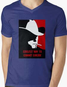 Coolest way to commit suicide Mens V-Neck T-Shirt
