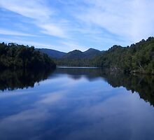 Gordon River - South West Tasmania by J-N-F