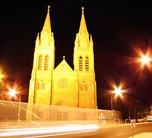 A variation on St Peters Cathedral by Mel Sarovic