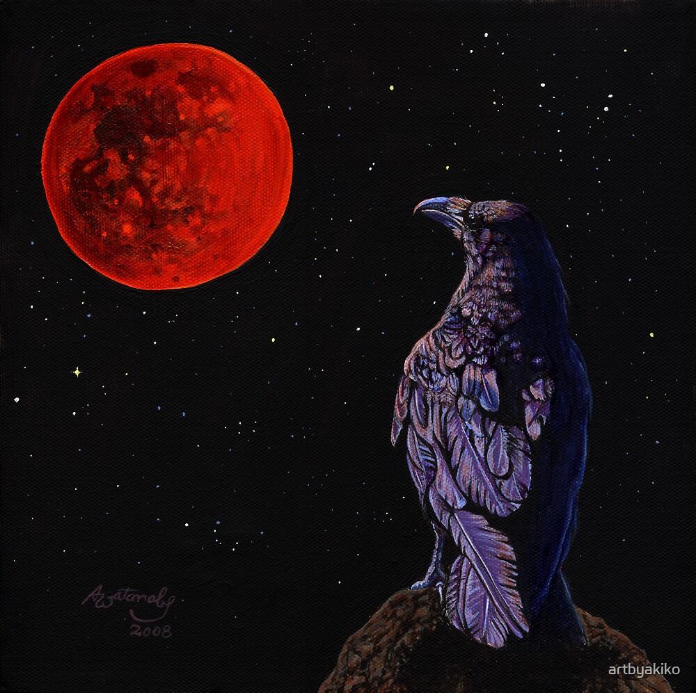 Lunar Eclipse by artbyakiko