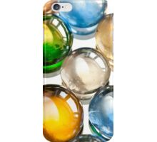 Glass balls marbles abstract iPhone Case/Skin