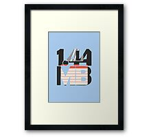 1.44MB Floppy Disk Framed Print