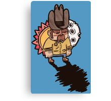 Little Sheriff Canvas Print