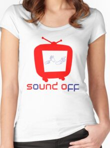 Sound Off TV Women's Fitted Scoop T-Shirt