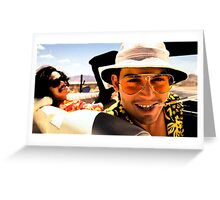 Fear and Loathing in Las Vegas - Art Greeting Card